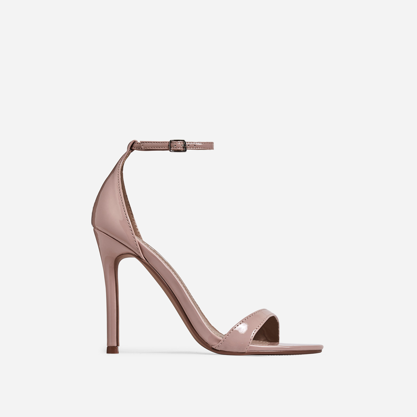Archer Barely There Heel In Nude Patent