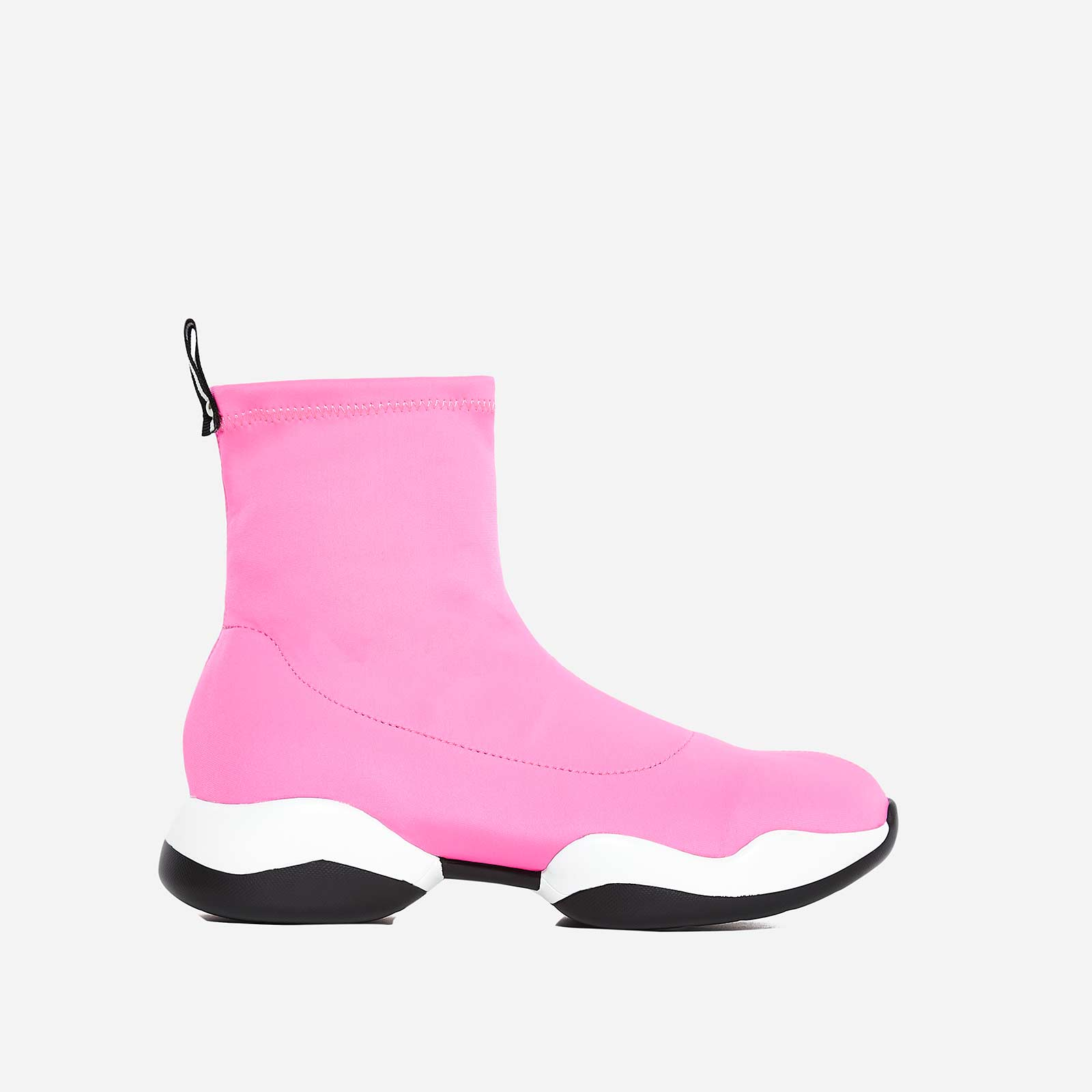 Space Sock Trainer In Fuchsia Lycra