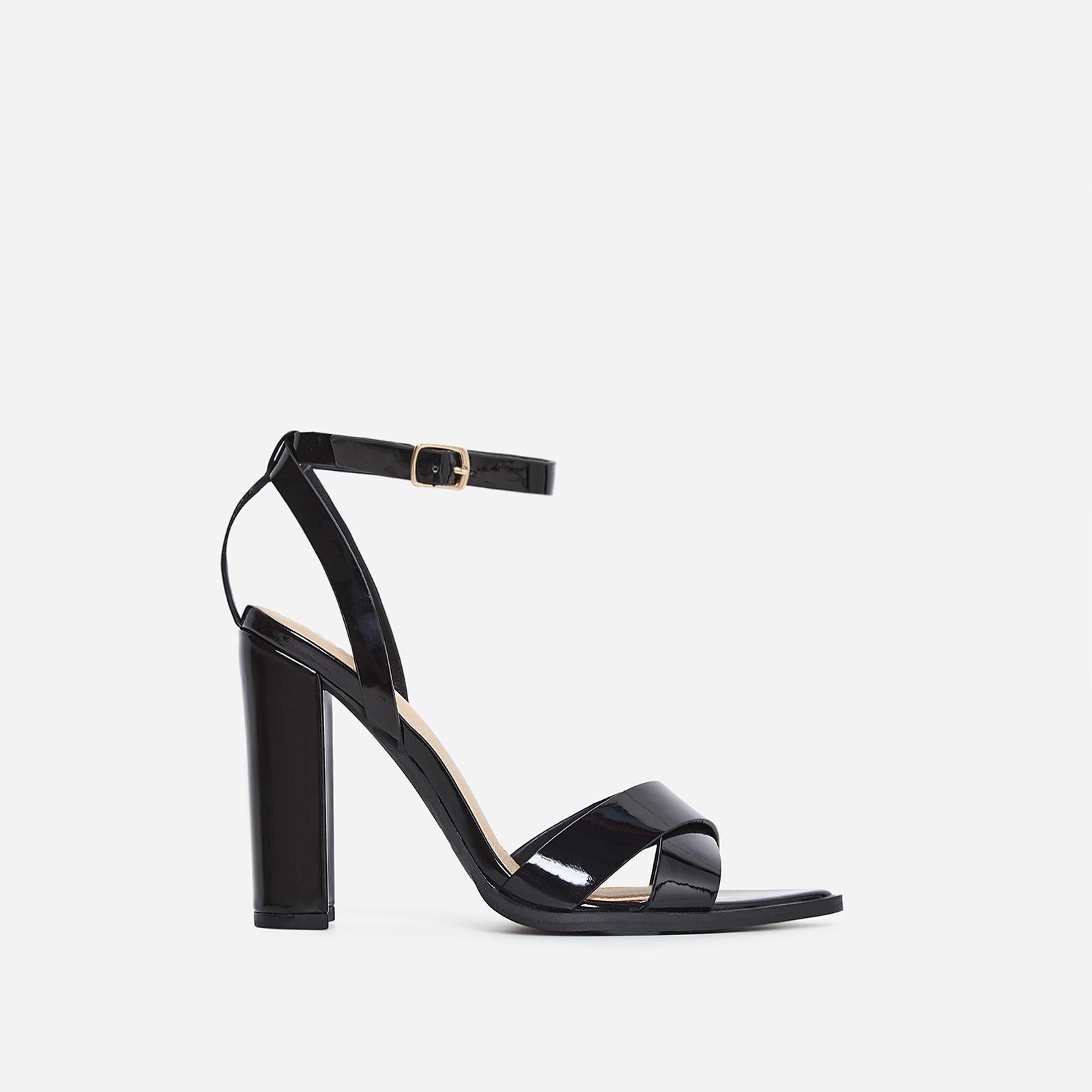 Obsessed Black Heel In Black Patent