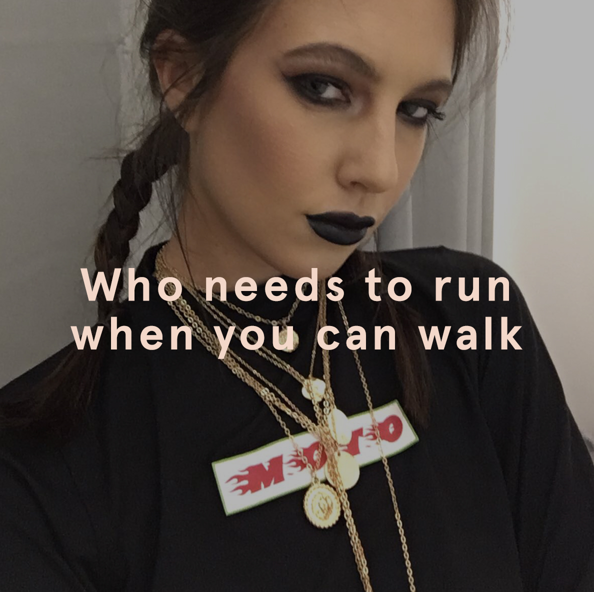 Who Needs To Run When You Can Walk  | EGO